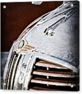 1938 Dodge Ram Hood Ornament Acrylic Print