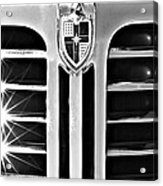 1948 Lincoln Continental Grille Emblem Acrylic Print