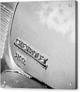 1949 Chevrolet 3100 Pickup Truck Emblem Acrylic Print