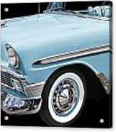 1956 Chevrolet Bel Air Convertible Acrylic Print