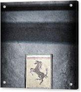 1956 Ferrari Emblem Acrylic Print