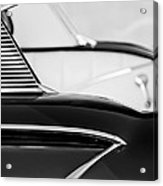1958 Chevrolet Belair Abstract Acrylic Print
