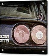 1989 Ferrari 328gtb Taillight Emblem Acrylic Print