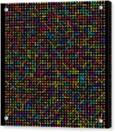 2800 Digits Of Pi Acrylic Print
