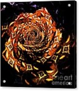 4 4 Echo Rose Acrylic Print