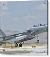 A Royal Saudi Air Force F-15 Acrylic Print