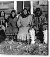 Alaska Eskimo Family Acrylic Print