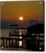 An Outer Banks North Carolina Sunset Acrylic Print