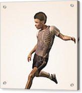 Anatomy Of Movement Child Acrylic Print