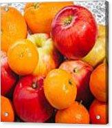 Apple Tangerine And Oranges Acrylic Print