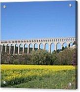 Aqueduct Roquefavour Acrylic Print
