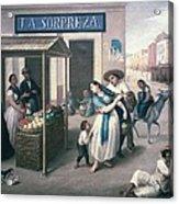 Arrieta, Jos� Agust�n 1802-1874. The Acrylic Print