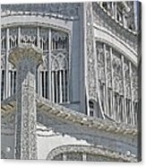Bahai Temple Wilmette Acrylic Print