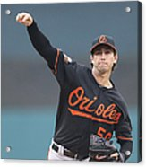 Baltimore Orioles V Detroit Tigers Acrylic Print
