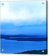 Bird's-eye View From Cadillac Mountain Acadia National Park Acrylic Print