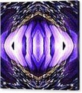 Blue Poppy Fish Abstract Acrylic Print