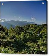 Blue Ridge Parkway National Park Sunset Scenic Mountains Summer  Acrylic Print