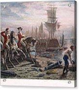Boston: Evacuation, 1776 Acrylic Print