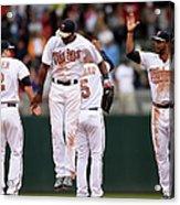 Boston Red Sox V Minnesota Twins Acrylic Print