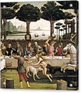 Botticelli, Alessandro Di Mariano Dei Acrylic Print