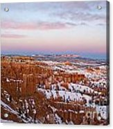 Bryce Canyon National Park Utah Acrylic Print