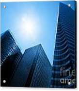 Business Skyscrapers Acrylic Print