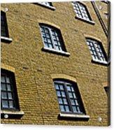 Butlers Wharf Windows Acrylic Print