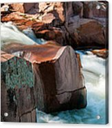 Castor River Acrylic Print