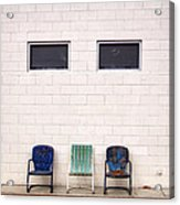 Ace Chairs Palm Springs Acrylic Print
