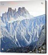 Charming Dolomites Acrylic Print
