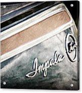 Chevrolet Impala Emblem Acrylic Print