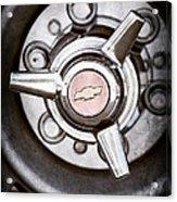 Chevrolet Wheel Emblem Acrylic Print
