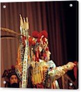 China Opera, 1979 Acrylic Print