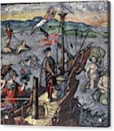 Christopher Columbus (1451-1506) Acrylic Print