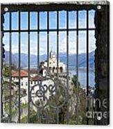Church Madonna Del Sasso Acrylic Print