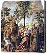 Cima Da Conegliano, Giovanni Battista Acrylic Print