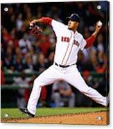 Cincinnati Reds V Boston Red Sox Acrylic Print