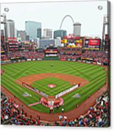 Cincinnati Reds V St. Louis Cardinals Acrylic Print