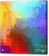 Citiscape Acrylic Print
