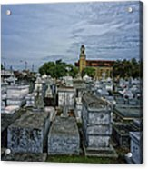City Of The Dead - New Orleans Acrylic Print