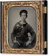 Civil War Sailor, C1863 Acrylic Print