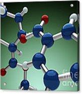 Cocaine Molecule Acrylic Print