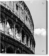 Colosseum - Rome Italy Acrylic Print