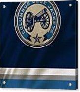Columbus Blue Jackets Uniform Acrylic Print