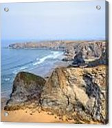 Cornwall - Bedruthan Steps Acrylic Print