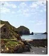 Cornwall - Mullion Cove Acrylic Print