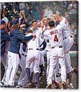 Detroit Tigers V Cleveland Indians 4 Acrylic Print
