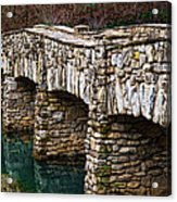 Dogwood Canyon Nature Park Near Branson Mo Acrylic Print