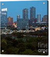 Downtown Fort Worth Texas Acrylic Print