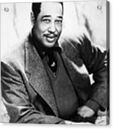Duke Ellington (1899-1974) Acrylic Print